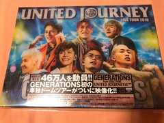 GENERATIONS UNITED JOURNEY LIVE TOUR 2018 ライブDVD