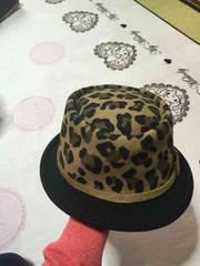 ハット帽 帽子☆ショウ柄
