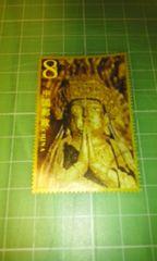 中国郵政CHINA8元(仏像)2002-13♪