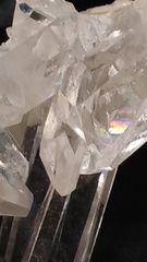 ジュエリーみたいな輝き★アーカンソー州産水晶クラスター★45.5g