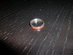 シルバー925☆赤水晶リング☆指輪21号