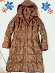 送1円●極暖超軽量ロングダウンコートユニクロ級に暖かいエティック新品セール最安LL