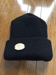 新品同様 イルビゾンテ ニット帽 黒