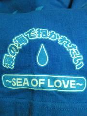 サザンオールスターズ 25周年 真夏の秘宝館 Tシャツ ブルー Sサイズ 海 お台場