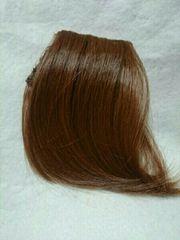 ※未使用※送料140円「明るい茶色の前髪ウイッグ」