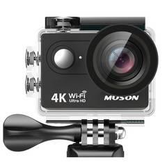 MUSONアクションカメラ 4K 30M防水 1200万画素2インチ液晶