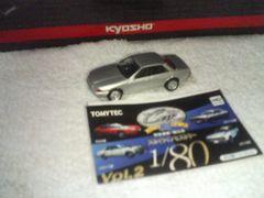 1/80 ハチマルコレクション2 スカイライン1 R32 GTS-t 4Dr.シルバー