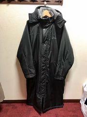 アシックス ロング ベンチコート  ブラック 超美品です♪♪