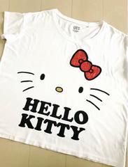 Sanrio☆HELLO KITTY☆半袖カットソー☆UNIQLO☆5点落札送料無料