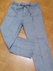 古着★大きいサイズ★ストライプ柄パンツ★3L