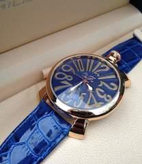 新品★1番人気のブルーベルト☆ClubFace★メンズ腕時計