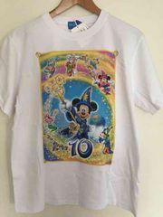 新品!TDS ディズニーシー 10周年 Tシャツ ミッキー ダッフィー