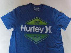 USA購入 ハーレー【Hurley】PREMUIM FIT ロゴTシャツ US S Blue