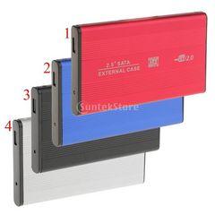 ★USB2.0 SATA 2.5インチ SSD HDD外付ハードディスクケース