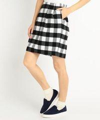 新品☆レイカズン!ブロックチェックタイトスカート
