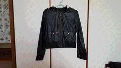 ☆INGNI☆黒のライダースジャケット☆サイズM☆