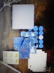 (送料込)★リンネル付録★がま口二つ折り財布&カード 2個セット