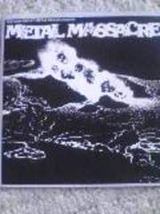 METALLICA収録  METAL MASSACRE