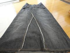 【美品】  デニムロングスカート