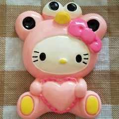 BIGパーツ ☆ 約 8 cm ☆ 着ぐるみ (エルモ) キティ