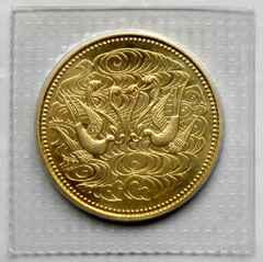 ◆天皇陛下御在位60年記念 10万円金貨 昭和61年銘