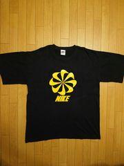 90s USA NIKE ヴィンテージ 風車 Tシャツ M ジャンク