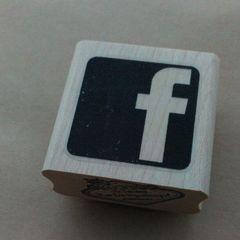 Facebookフェイスブック輸入ロゴスタンプ