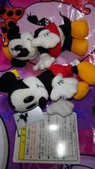 東京ディズニーリゾート/TDR/ミッキーマウス&ミニーマウス/ぬいぐるみバッジ/ぬいば