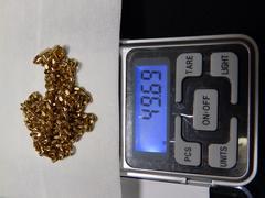 18K 49.69g 52cm喜平2面 ゴールドネックレス