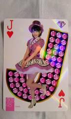 AKB48トレジャーカード宮脇咲良トランプカード