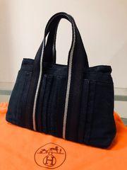 1円 ◆正規品◆ 良品 ◆ エルメス トロカホリ トート バッグ 黒