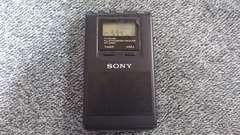 ソニー携帯ラジオ(AM-FM)
