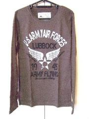 ★Military★ミリタリー★US.ARMY★ワッフル★プリントロンT/M★新品★
