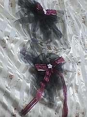 う〓送込〓ママとペアの浴衣帯リボン飾り〓