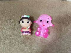 ソフビ人形  指人形  2個セット