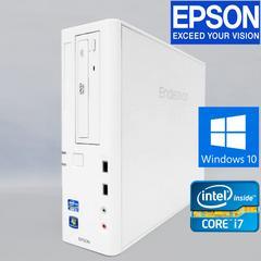 動作保証 EPSONエンデバー 2世代Core i7 Win10 Pro DVDマルチ HD