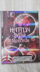 未開封美品KAT-TUN LIVE「Break the Records」初回限定盤オマケ付