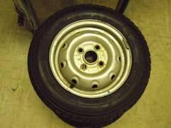 軽バン軽トラに最適テッチンホイル&スタッドレス4本セット