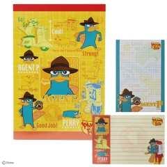 ディズニー【フィニアス&ファーブ】可愛い♪2柄80枚 A6メモ帳