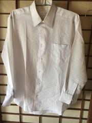 男子制服長袖カッターシャツ