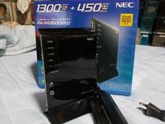 NEC 無線LANルータ PA-WG1800HP2