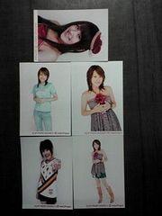 ココナッツ娘。アヤカ公式生写真5枚詰め合わせ福袋