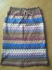 ●新品●膝丈スカート●