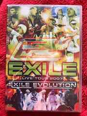 EXILE EVOLUTION DVD 初回限定盤3枚組 LIVE TOUR 2007