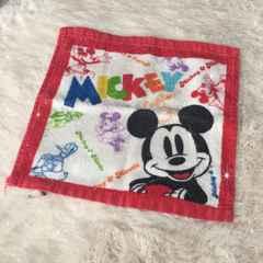 ●ミッキーマウスのミニタオル・ハンカチ●
