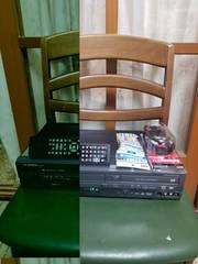 12年希少完動美品!DXアンテナVHS/DVDレコーダーDXR-160V