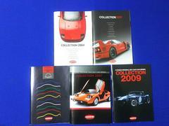 中古 京商カタログ '04〜'07 '09  5冊 モデルカー 1/18 1/43 1/64スケール