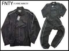 FNTY ラニングジョーガズ上下セットFlying Ninety L/XL 黒
