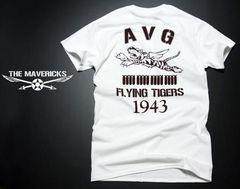 AVGフライングタイガースモデルTシャツ白茶M新品/ミリタリー系