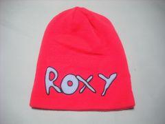 wb741 ROXY ロキシー ニット帽 ビーニー ピンク